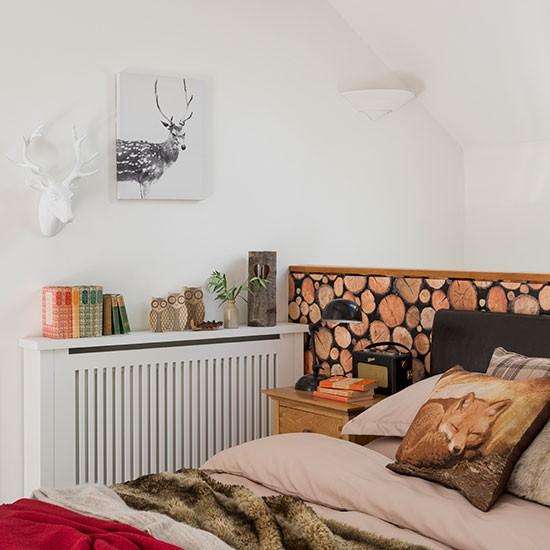 log wallpaper Bedroom decorating Style at Home Housetohomecouk 550x550