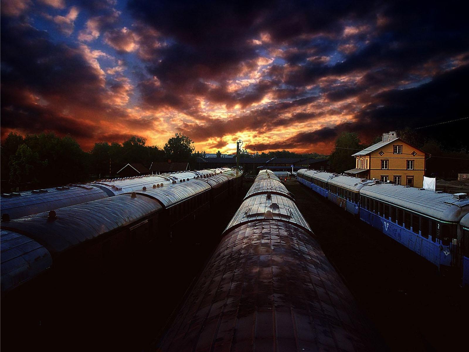 Train wallpaper 88598 1600x1200