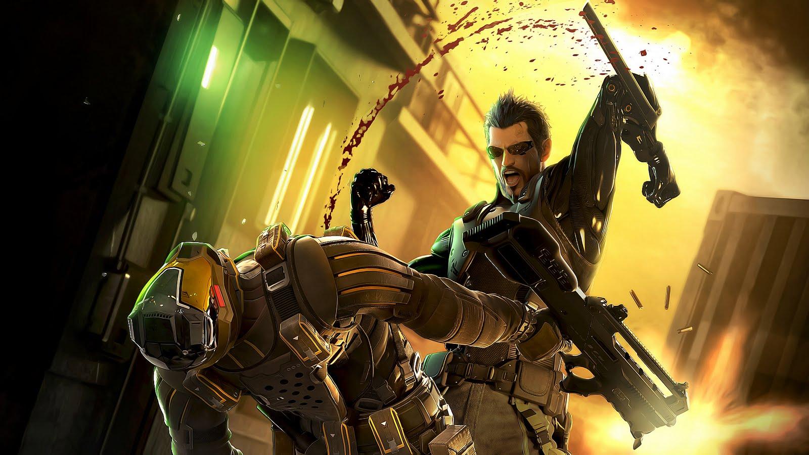 Videogames Universe Deus Ex Human Revolution   Wallpaper in HD 1600x900