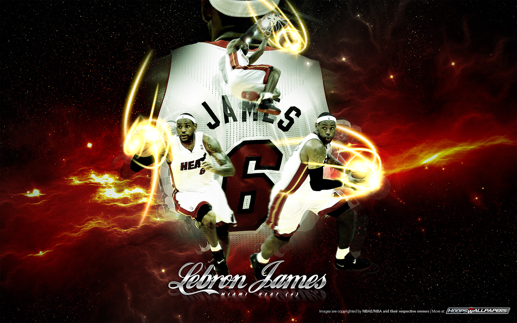 NBA and basketball wallpapers for download LeBron James 1680x1050