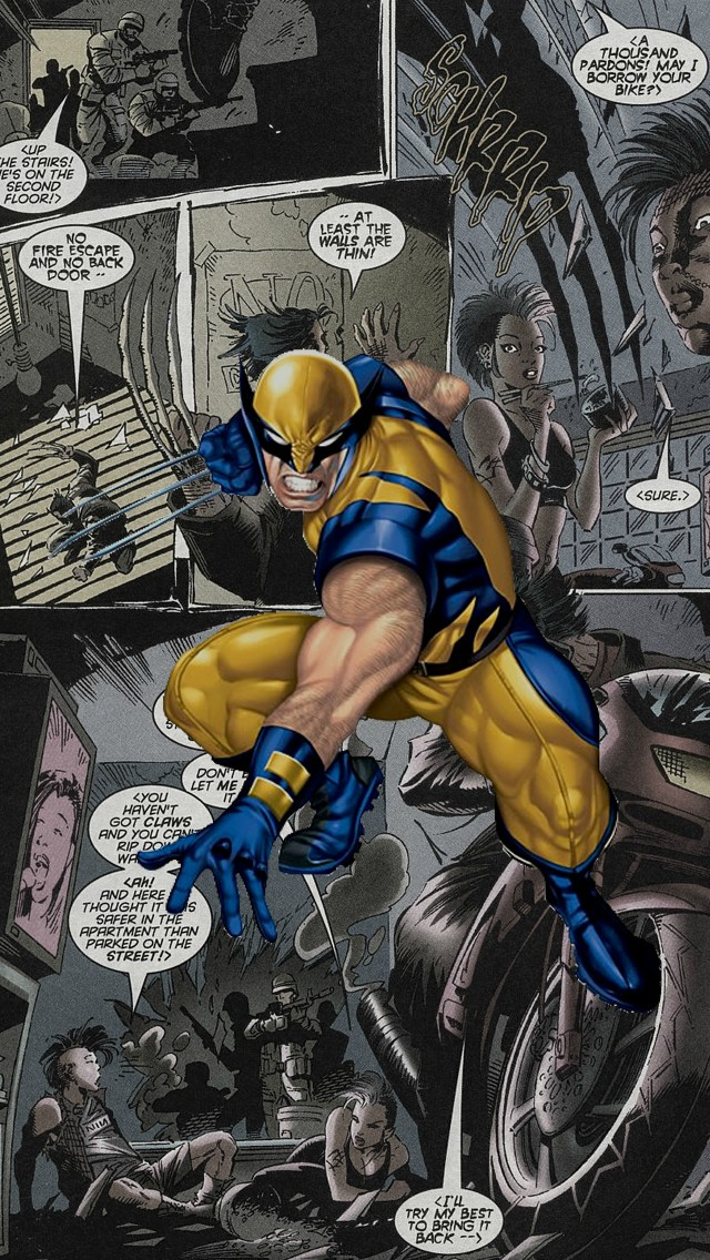 Wolverine Comics Iphone Wallpaper Tags Marvel X Men 640x1136