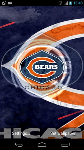View Bigger Chicago Bears Live Wallpaper For Android Screenshot 288x512