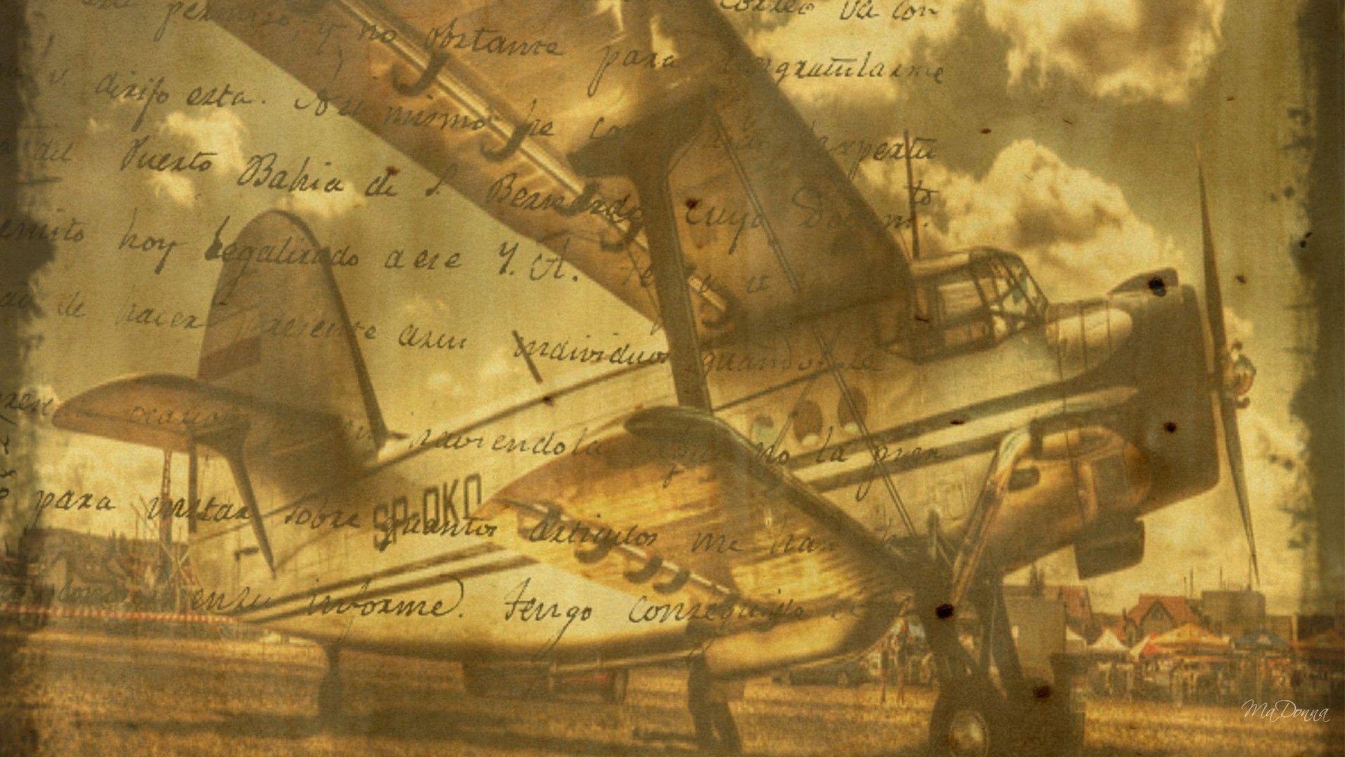 Vintage Airplane Wallpapers 1920x1080