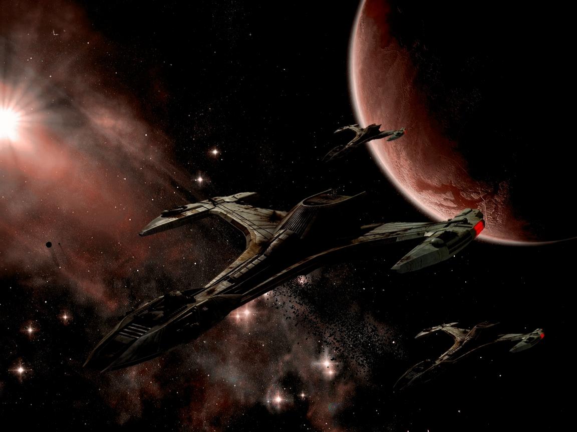 Klingon Symbol Wallpaper Klingon space by crawler23 1152x864