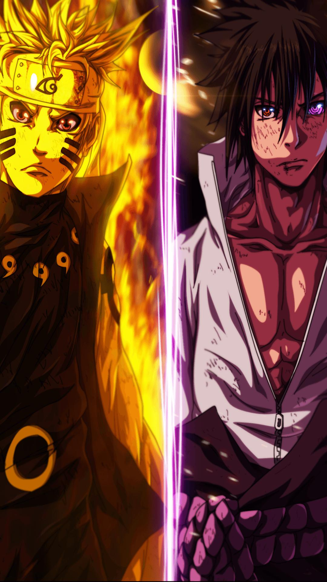 download Naruto And Sasuke Wallpaper Iphone 439224 HD 1080x1920