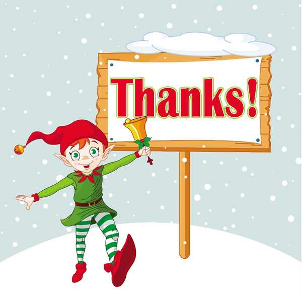 Christmas Elf Pictures and Wallpaper 600x598