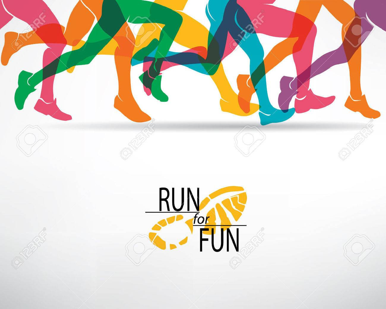 Running People Set Of Silhouettes Sport And Activity Background 1300x1040