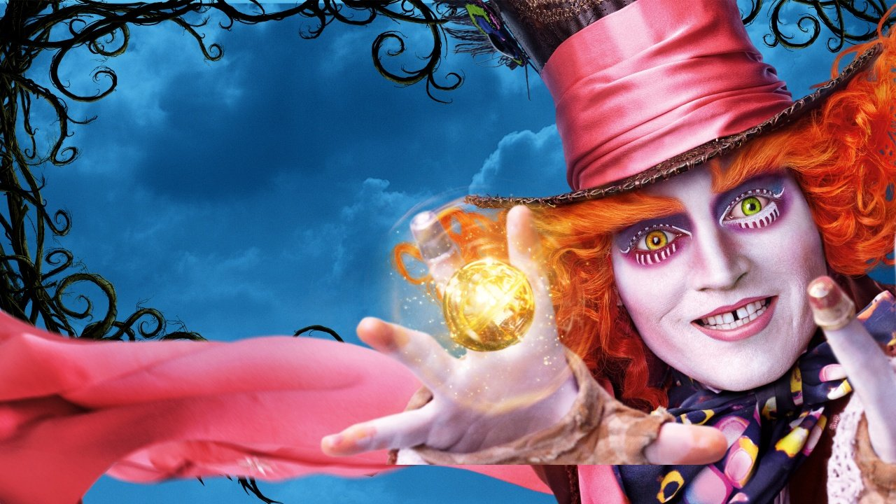 Johnny Depp Alice Through the Looking Glass Wallpapers HD Wallpapers 1280x720