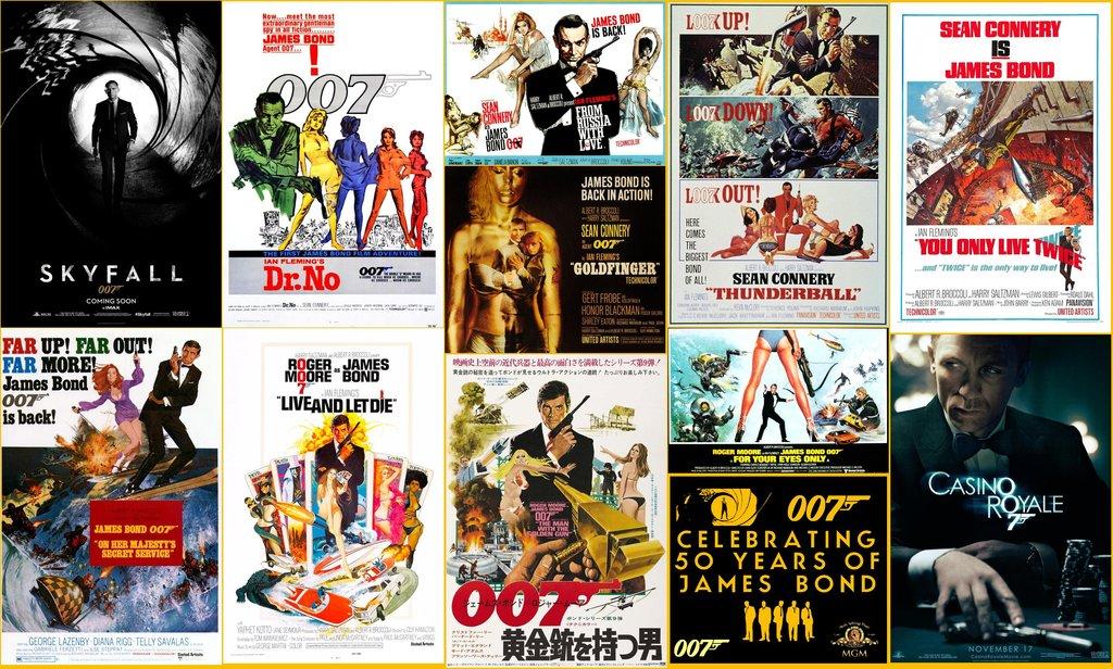 48 James Bond Movie Poster Wallpaper On Wallpapersafari