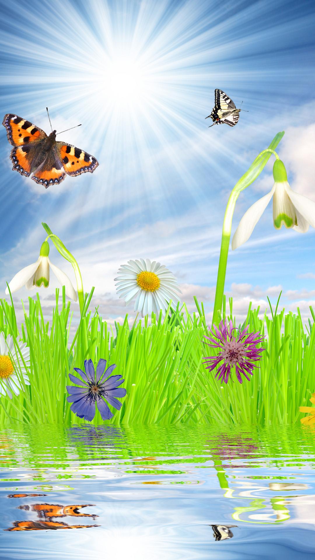 Beautiful spring mood iphone 6 plus wallpaper iPhone 6 Plus 1080x1920