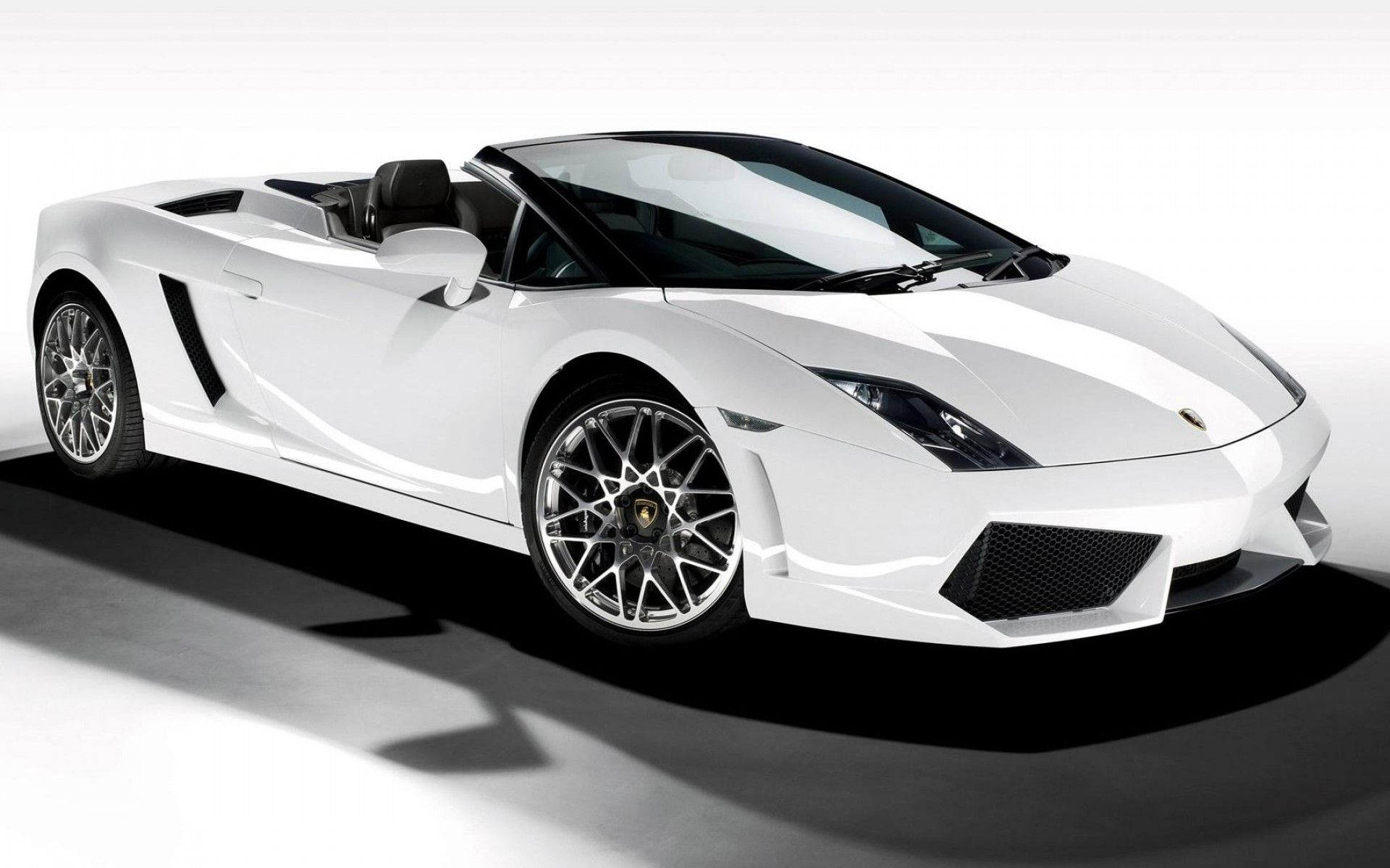 White Lamborghini Wallpapers 1920x1200