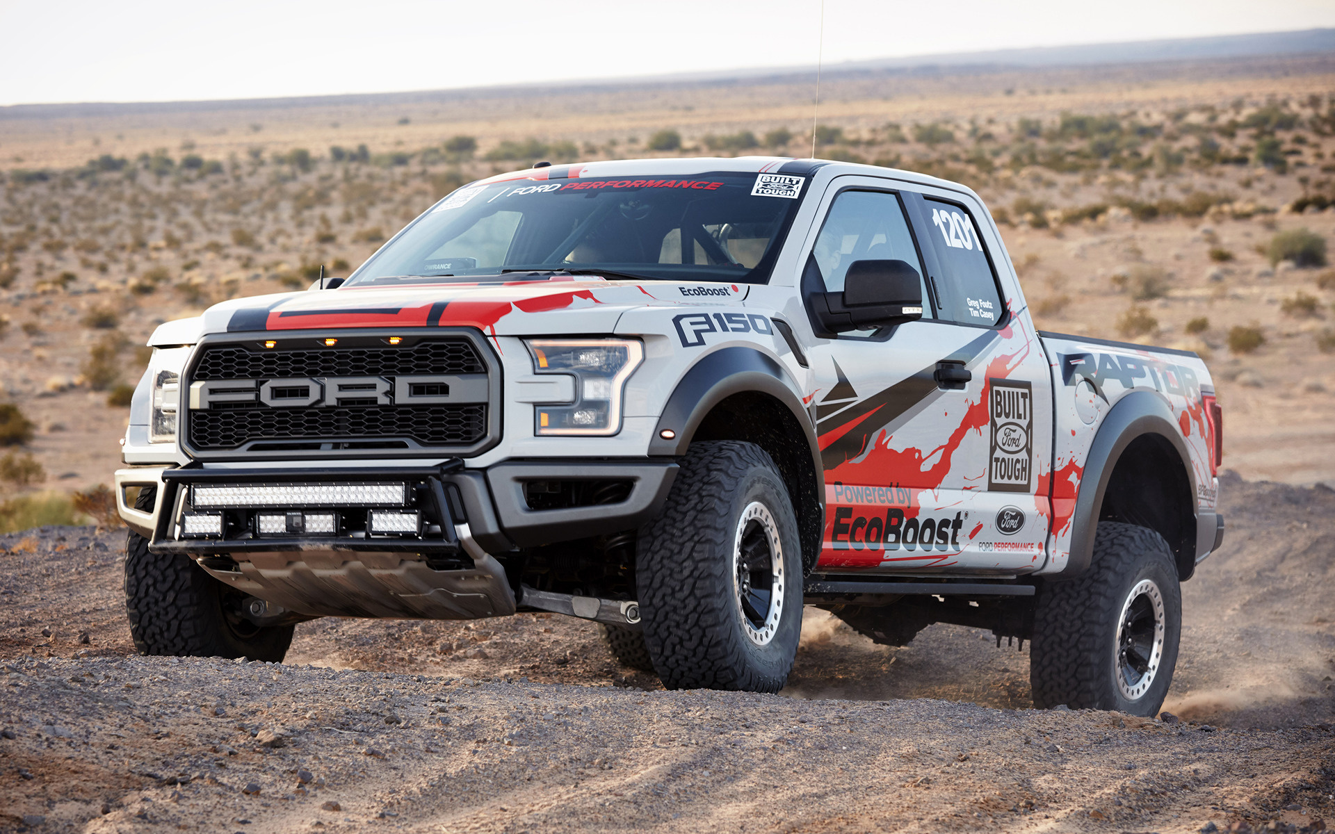 Ford F 150 Raptor Race Truck 2017 Wallpapers and HD Images 1920x1200
