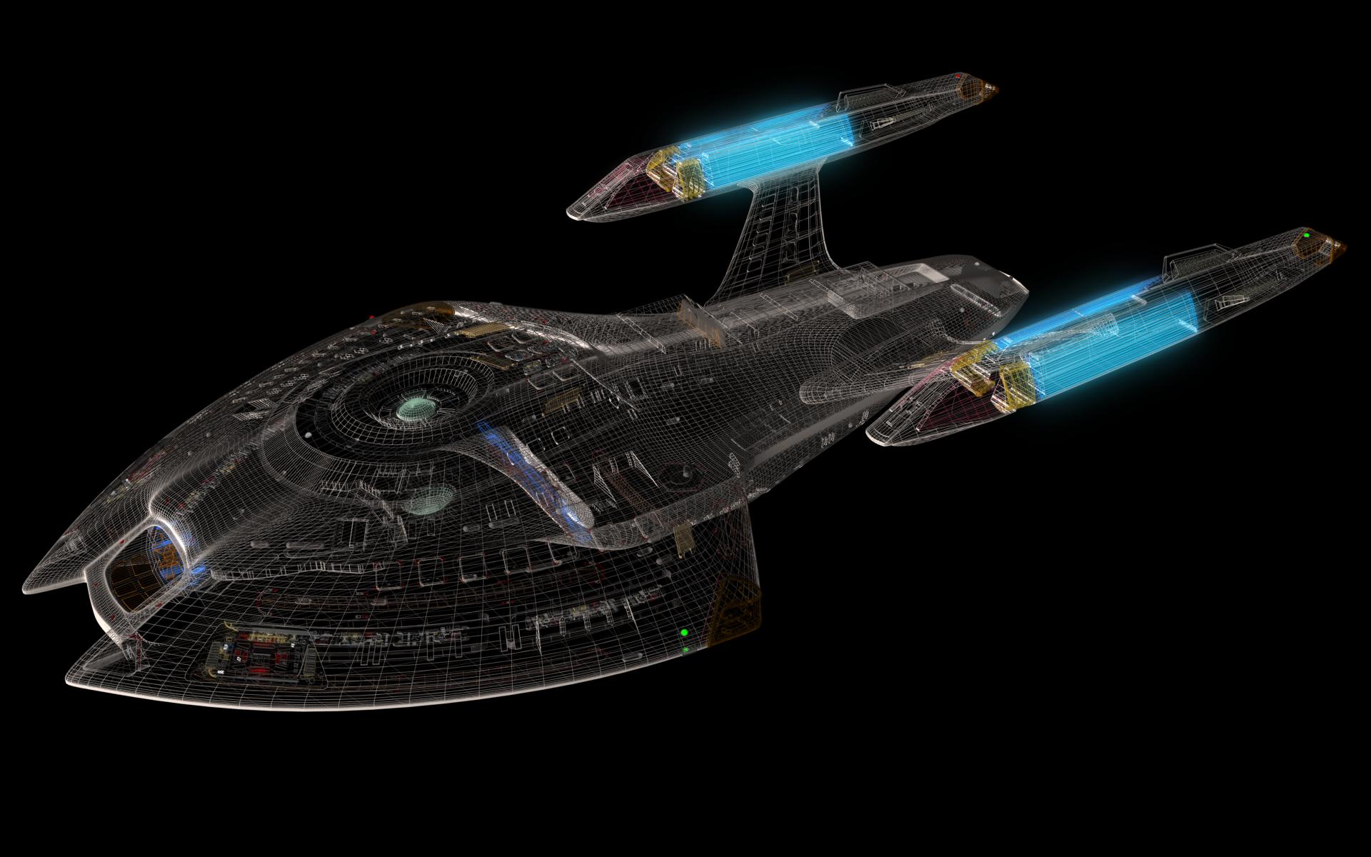 Star Trek starship Wallpaper 7155 1920x1200
