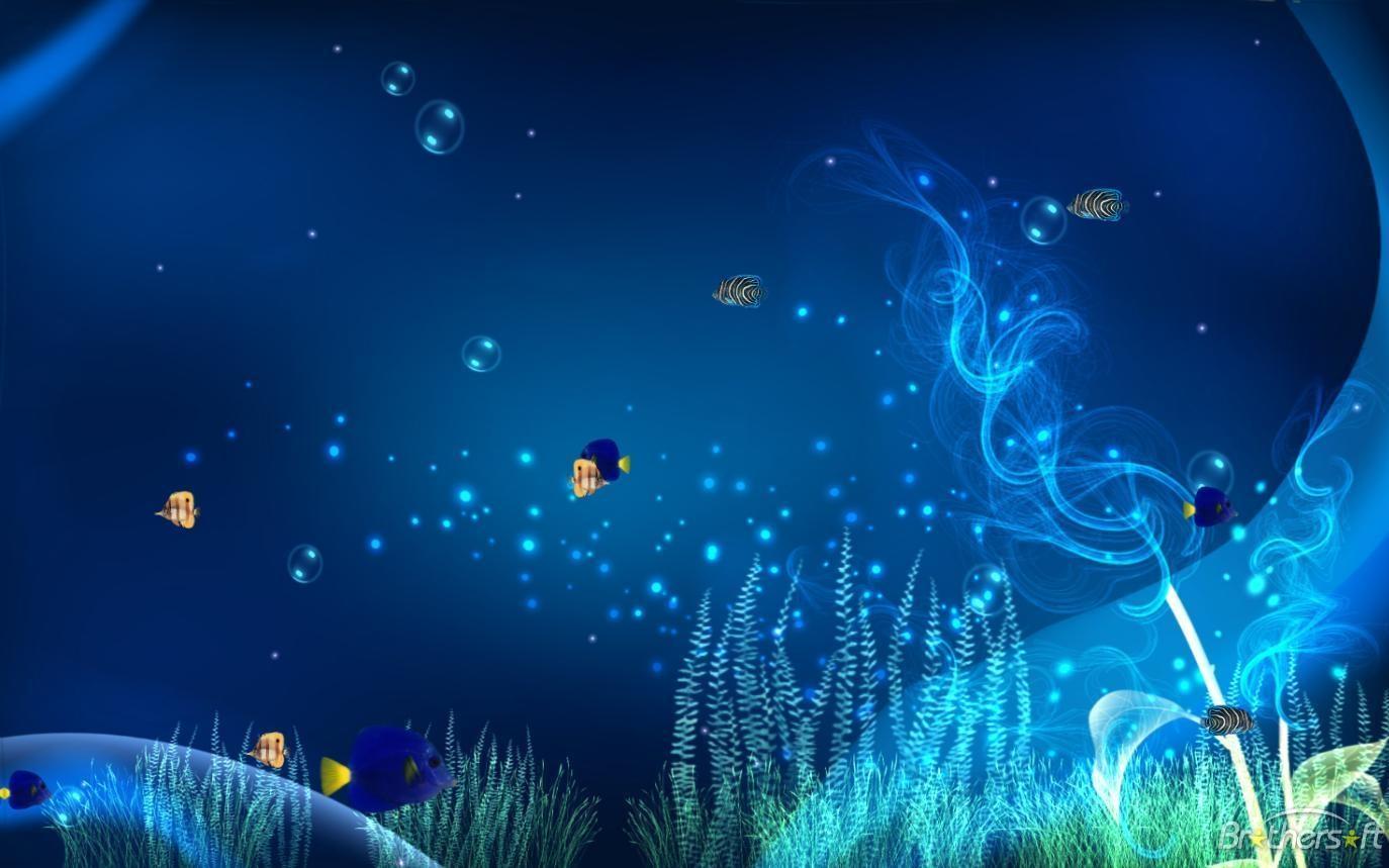 Animated Wallpaper Ocean Adventure Aquarium Animated Wallpaper 10 1374x859