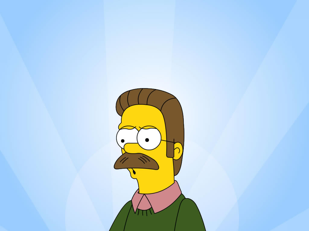 Wallpaper Interesting Ned Flanders Cartoon Photos And Wallpapers 1024x768