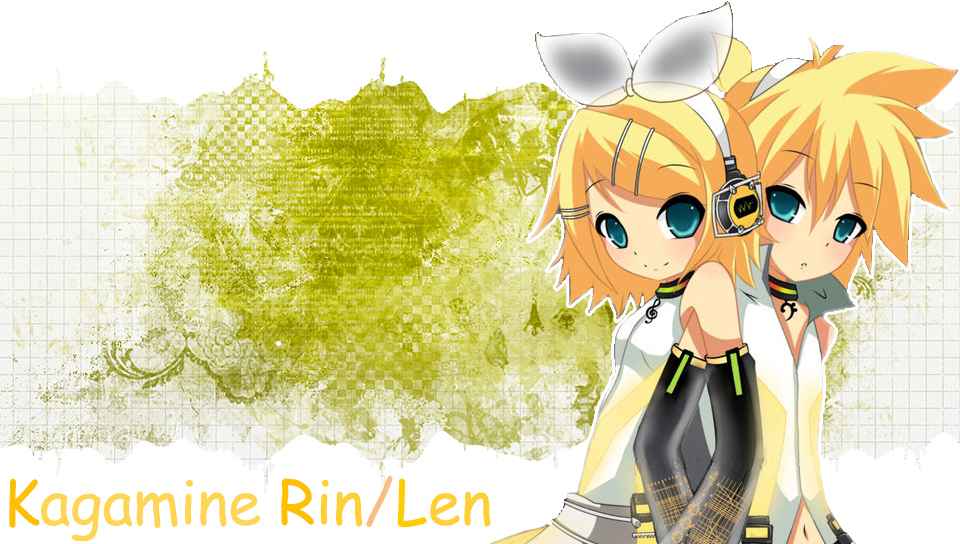 Rin Len v3 PS Vita Wallpapers   PS Vita Themes and Wallpapers 960x544