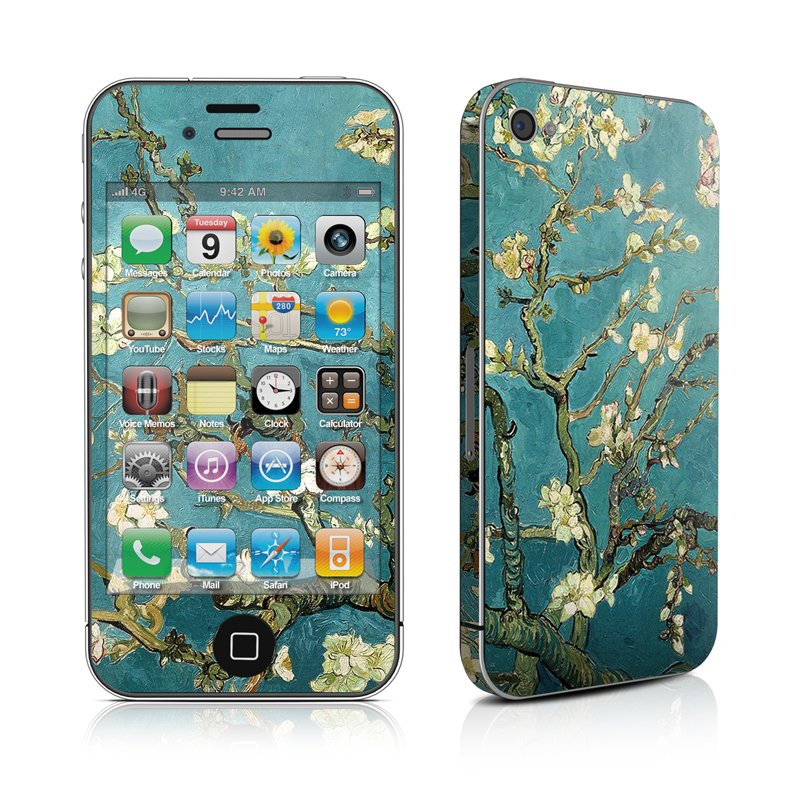 iPhone 4 Skin   Blossoming Almond Tree by Vincent van Gogh DecalGirl 800x800