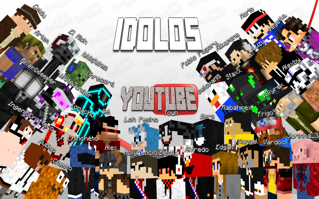 download The best Minecraft Youtubers Finish by Torowing 1024x640