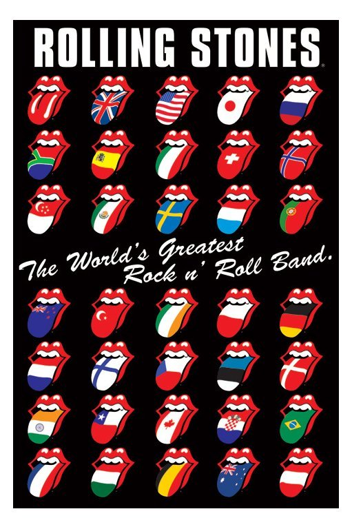 Rolling Stones Tongue Wallpaper 511x768