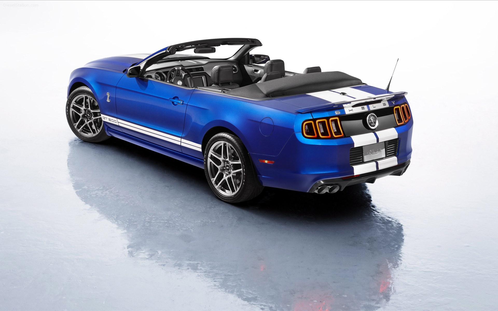 Home Ford Ford Shelby Mustang GT500 Convertible 2013 1920x1200