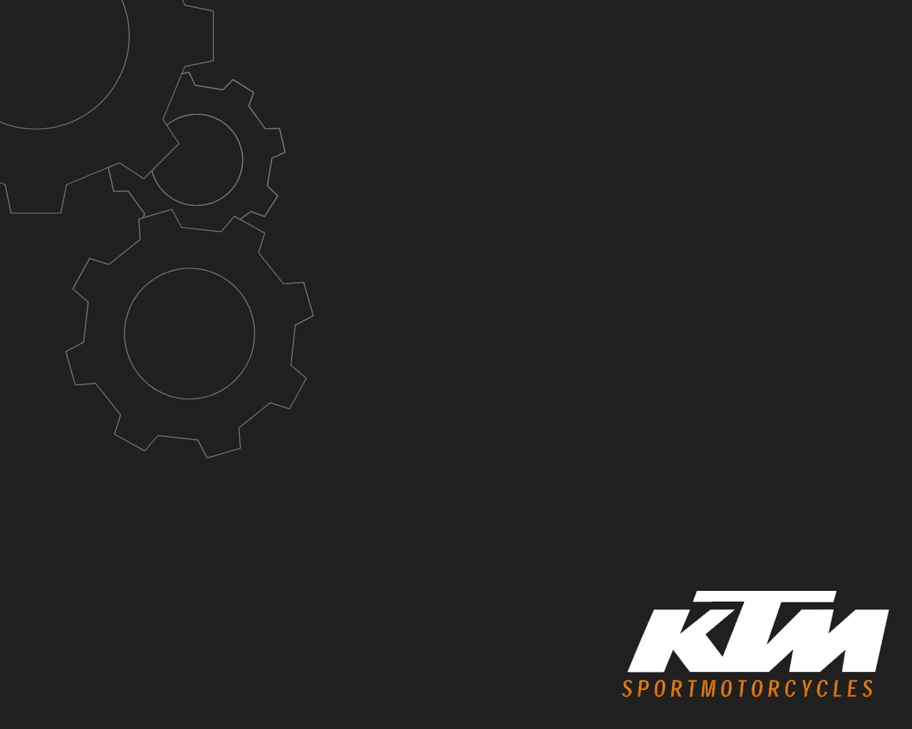 Ktm Logo Wallpaper 1280x1024