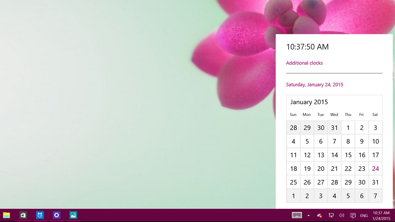 Windows 10 build 9926 How to enable the new Clock experience 780x439