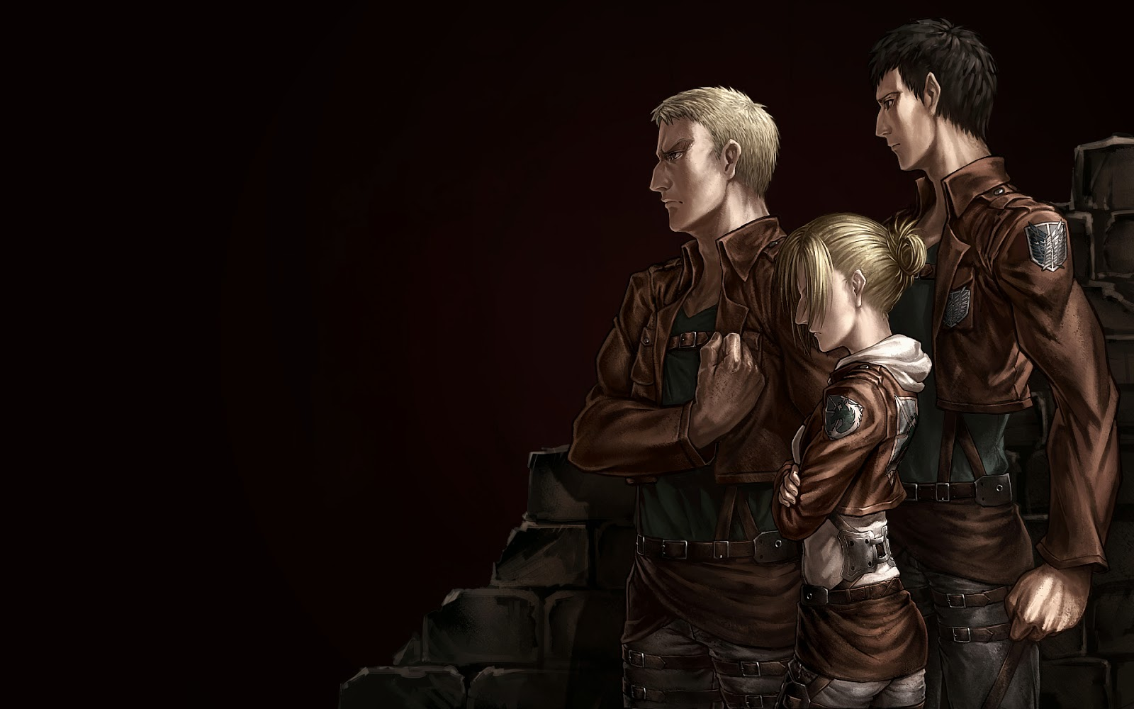 titan shifter Attack on Titan Shingeki no Kyojin Anime HD Wallpaper q3 1600x1000