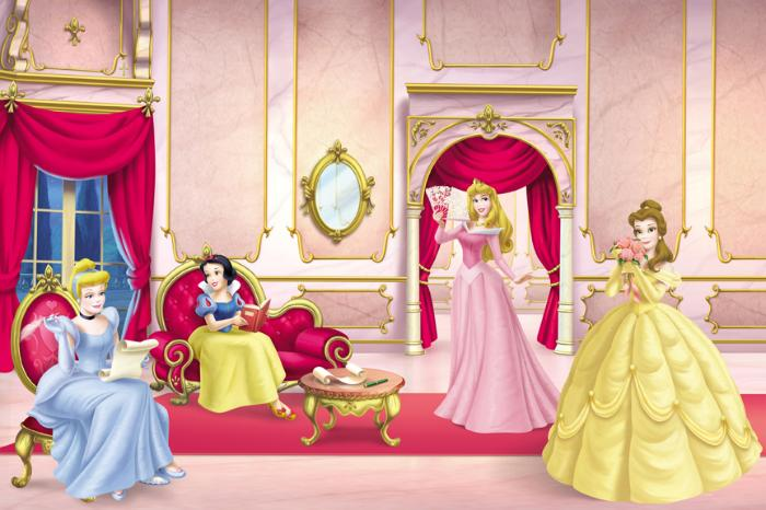 Disney Princess Wallpaper Mural Wallpaper Border   Wallpaper 700x466