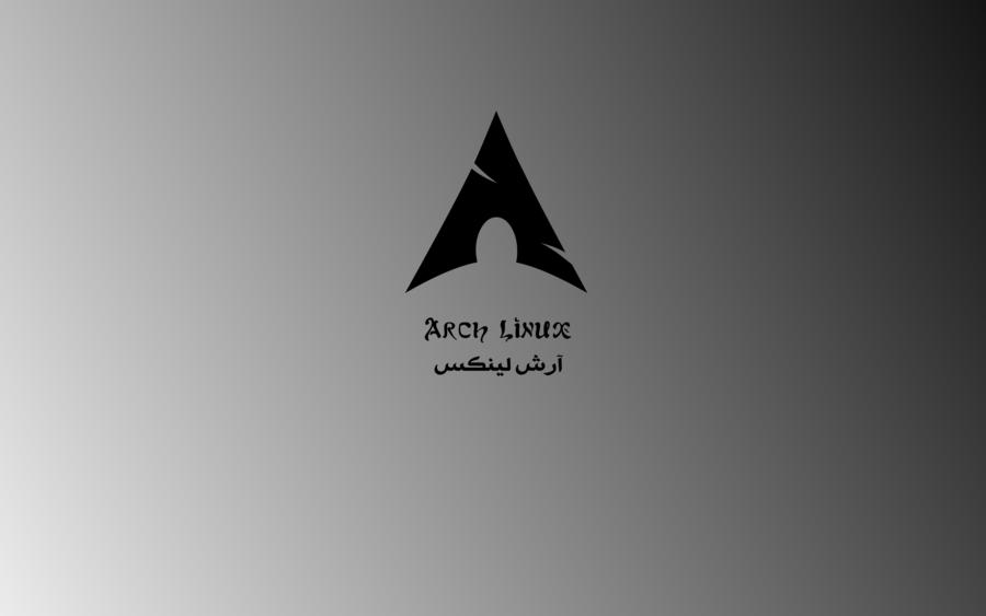 Black Arch Wallpaper English Arabic by samiuvic 900x563