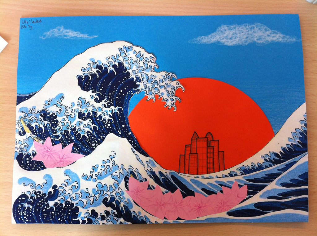 Hokusai Wallpaper Hokusai paraphrase by sireynia 1024x765