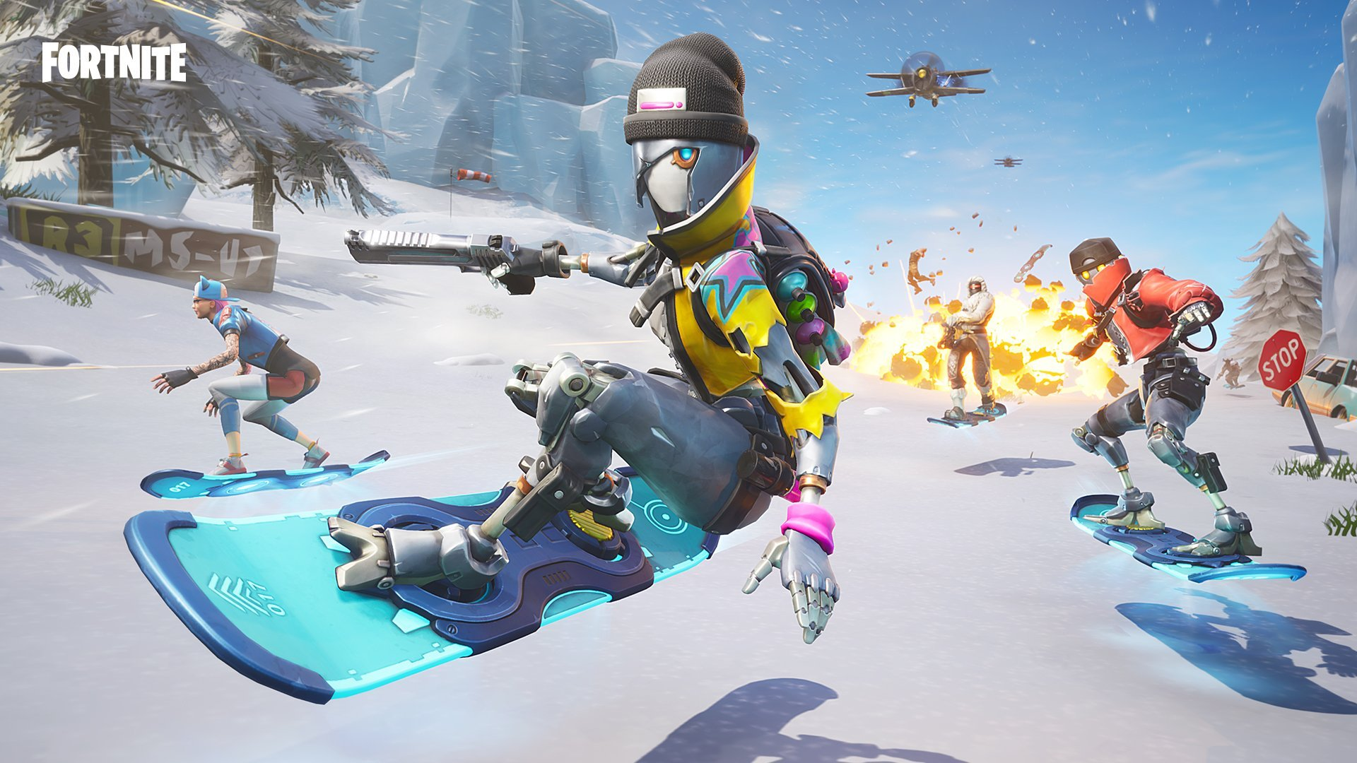 I hope this is not a battle pass wallpaper FortNiteBR 1920x1080