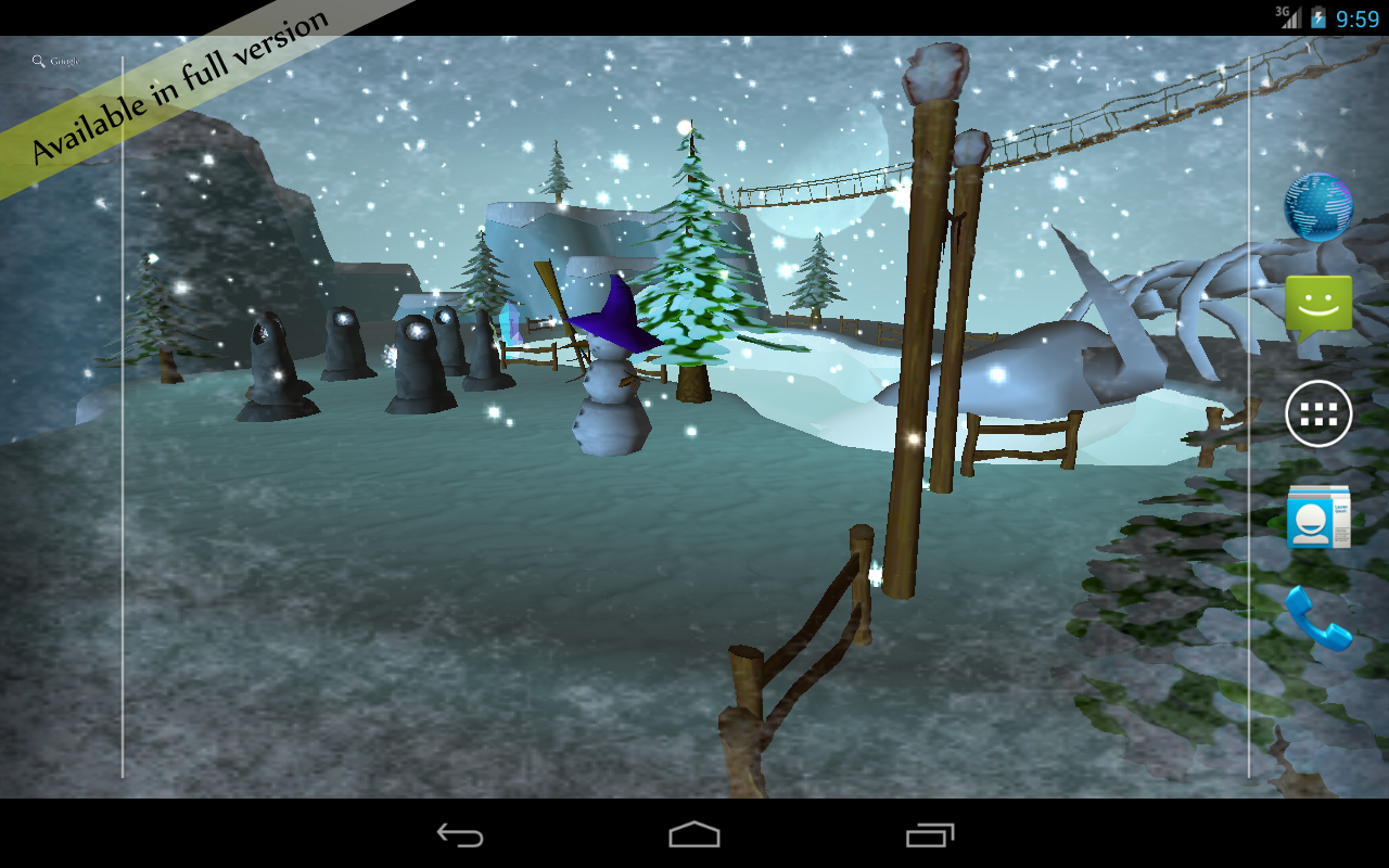 Snow 3D Live Wallpaper   Android Apps on Google Play 1280x800