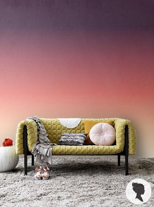 Find this peel and stick Ombre wallpaper on Etsy by Livettes 500x673