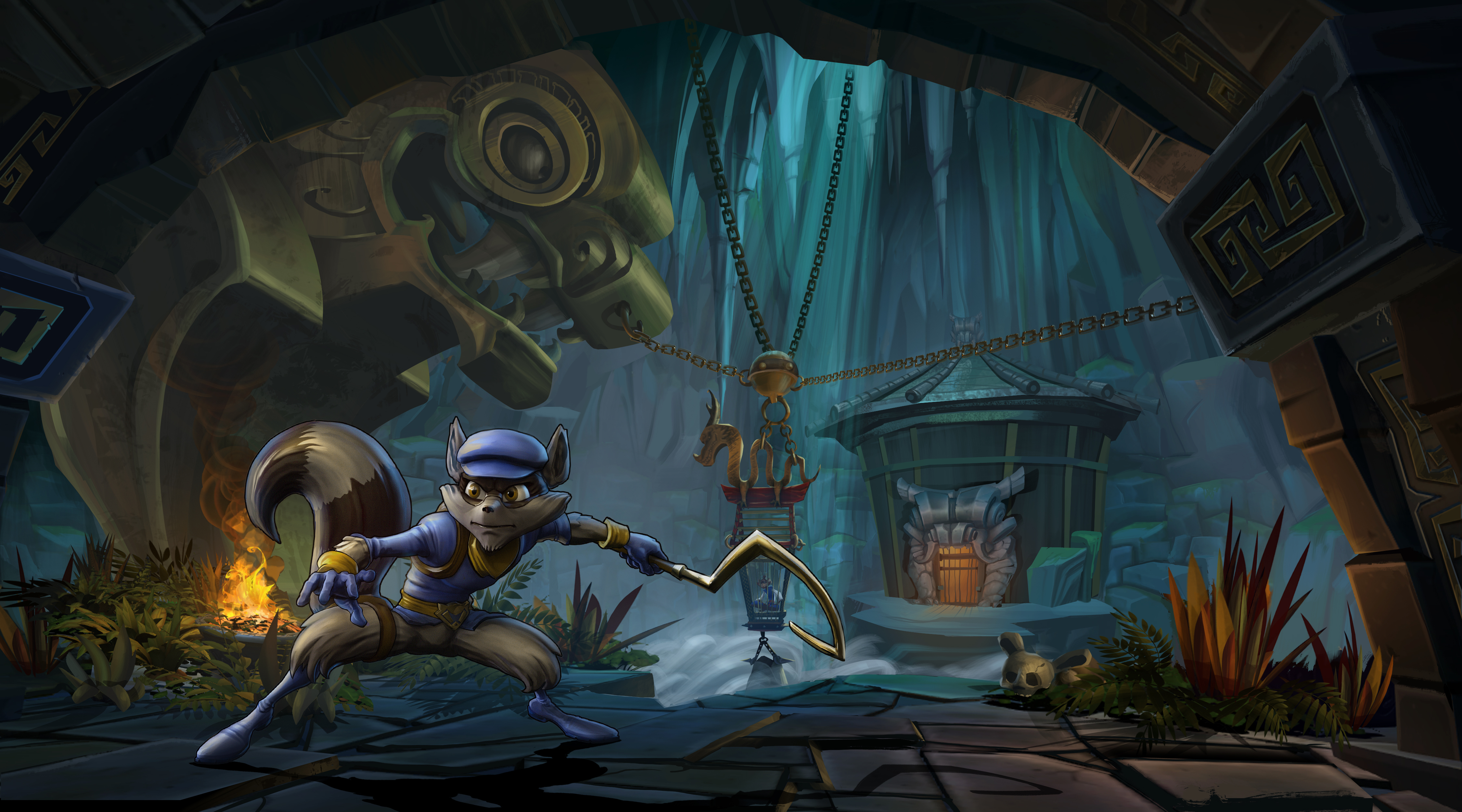 Sly Cooper Thieves in Time video game wallpapers Wallpaper 108 of 4500x2500
