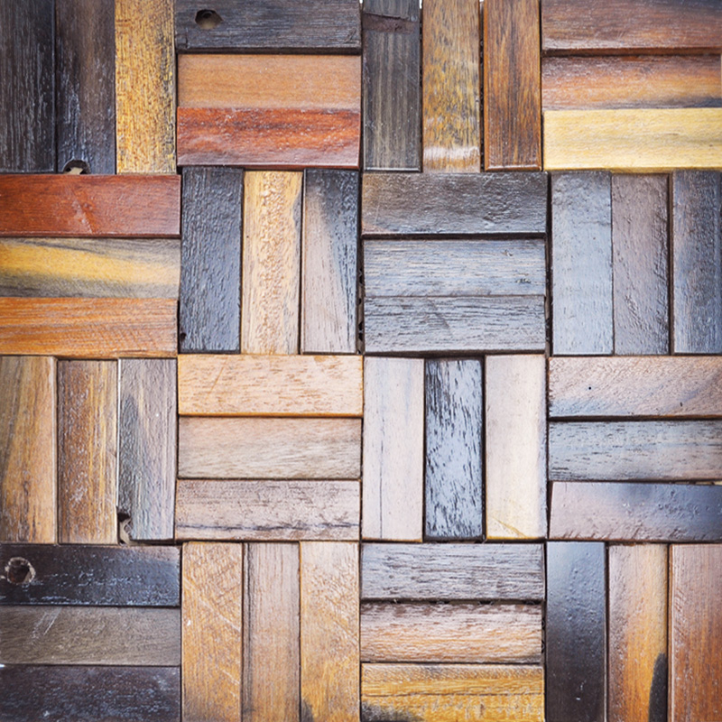 Wood Wall Panels Reclaimed Wood Tiles A15004 Reclaimed Wood 800x800