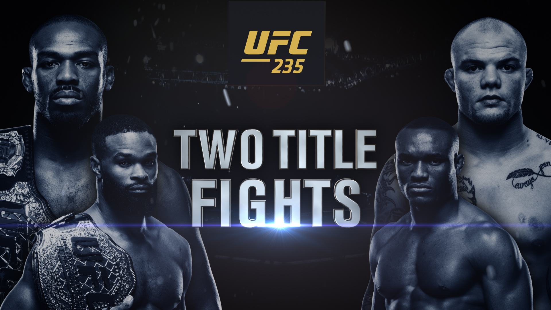 UFC 235 Two Title Fights UFC 1920x1080