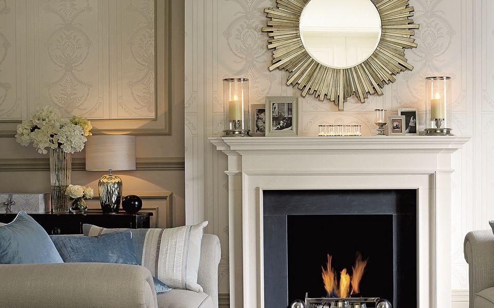 Palladian WhiteDove Grey Patterned Wallpaper at Laura Ashley 960x600