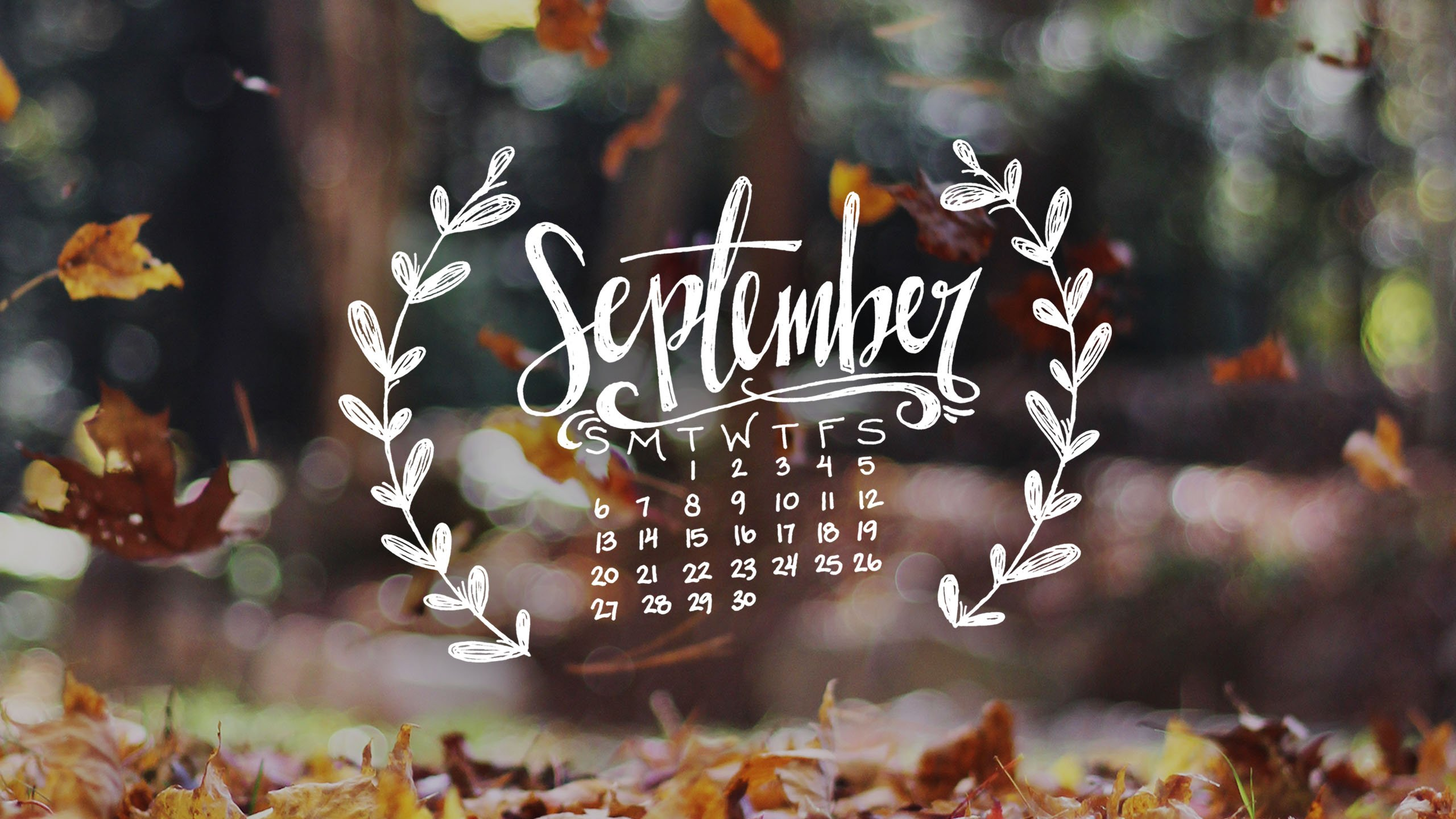 Free Download September Desktop Wallpaper 2560x1440 For