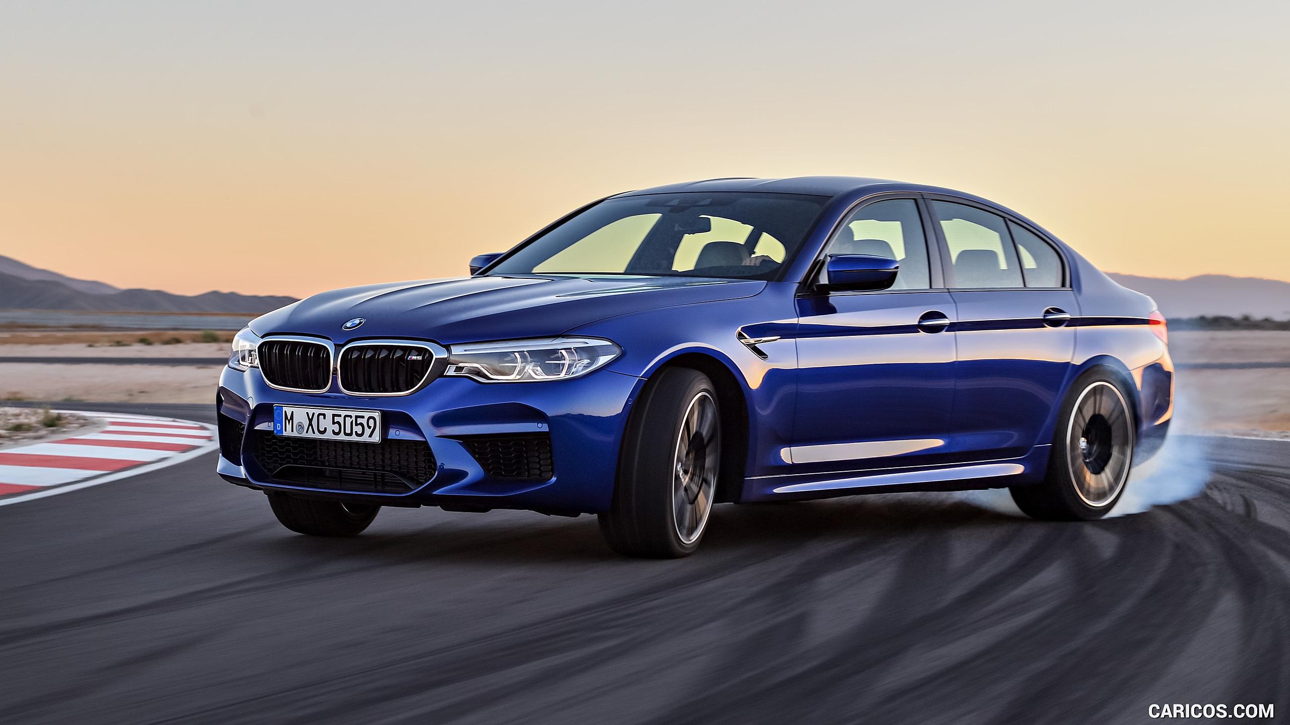 2018 BMW M5 F90   Front Three Quarter HD Wallpaper 1 2560x1440