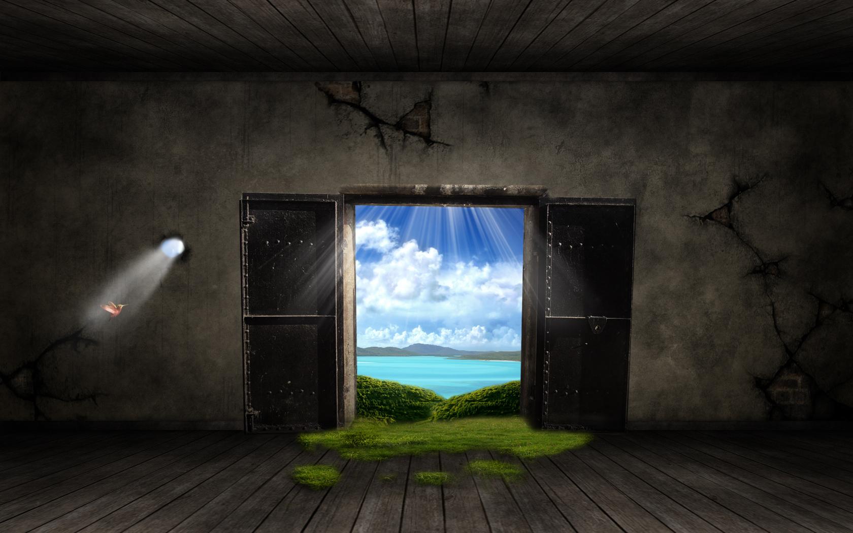 Fantasy Door Wallpapers HD Wallpapers 1680x1050