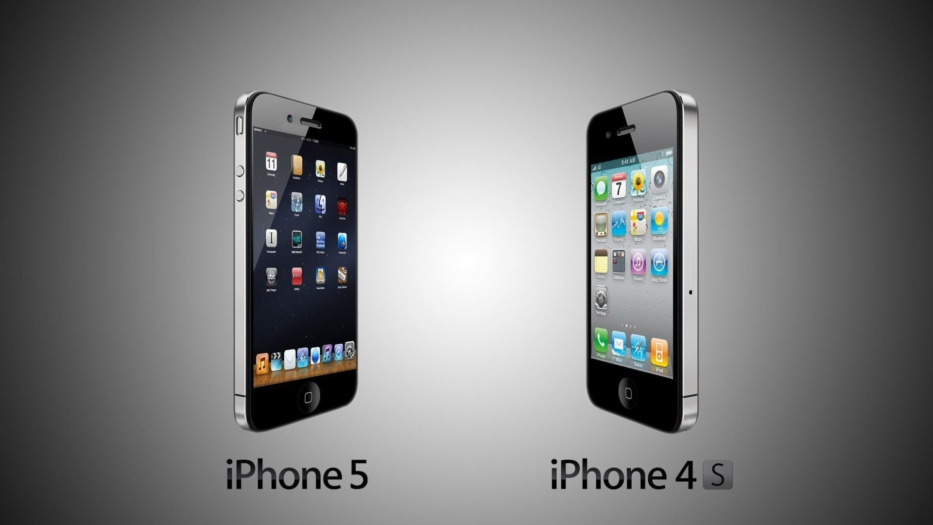 iPhone 5 vs iPhone 4S   High Definition Wallpapers   HD wallpapers 1920x1080