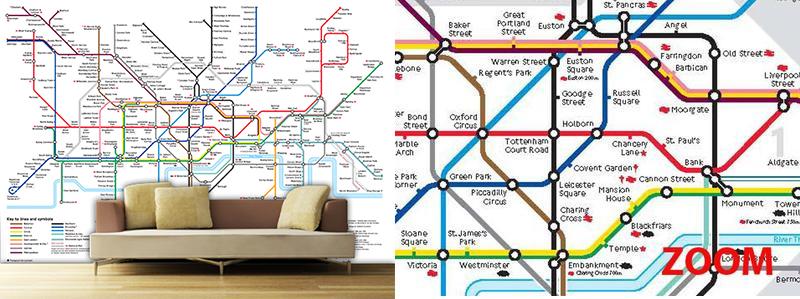 Free Download London Underground Tube Map Designer Wallpaper