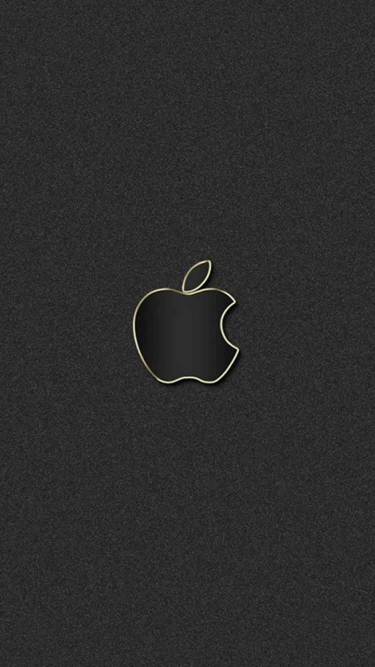 black Apple logo iPhone 6 Wallpapers HD Wallpapers For iPhone 6 750x1334
