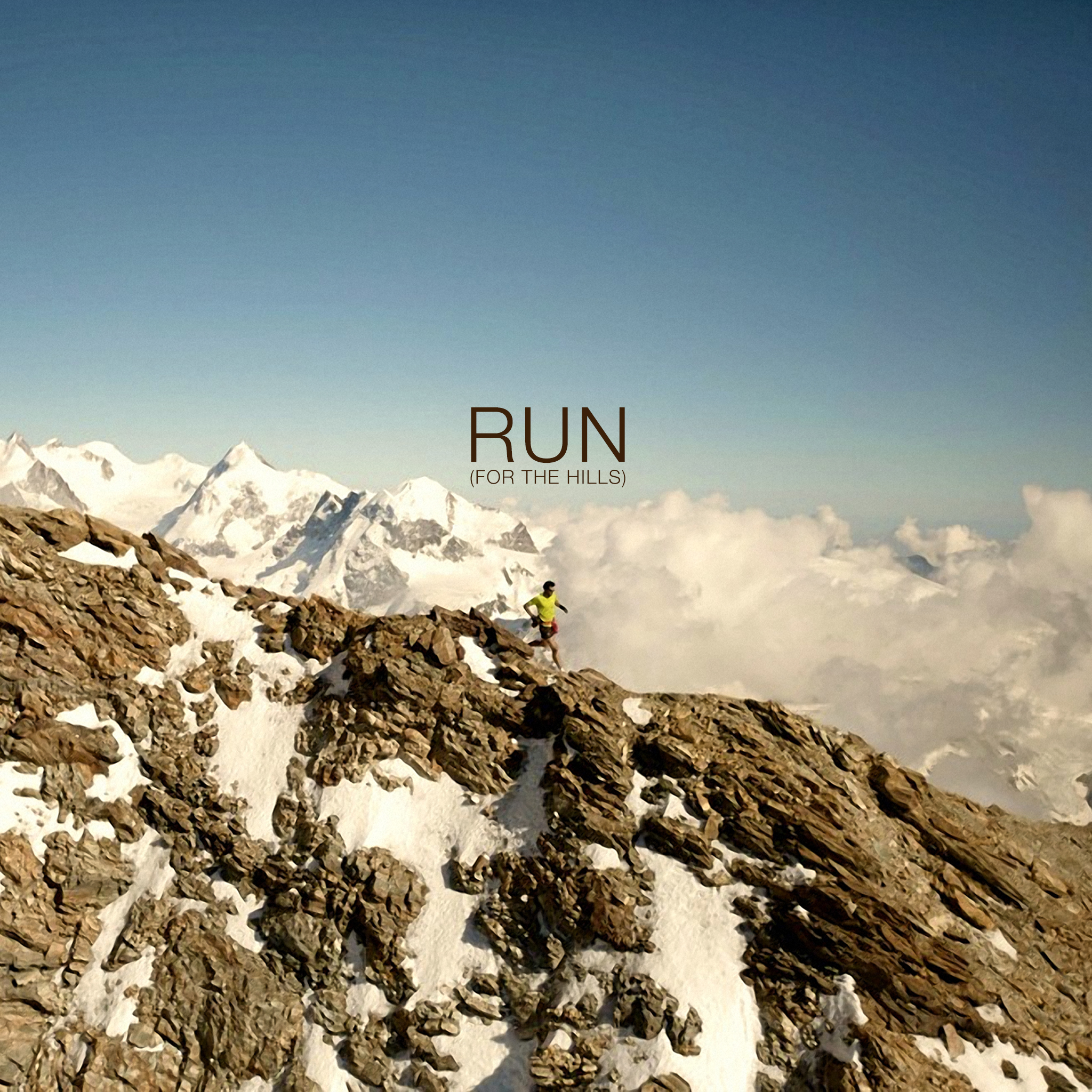 Nike Running Backgrounds Run for the hills wallpaper 2048x2048