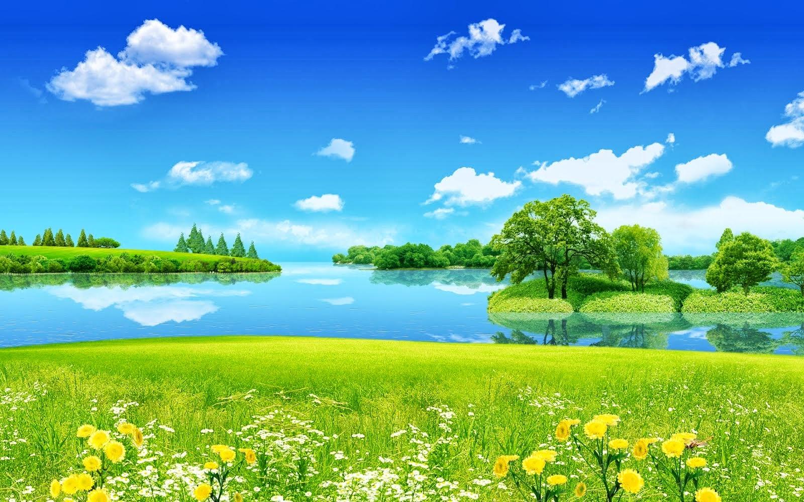 RankPo Pict Summer Wallpaper Wallpapers Desktop Lake 1600x1000