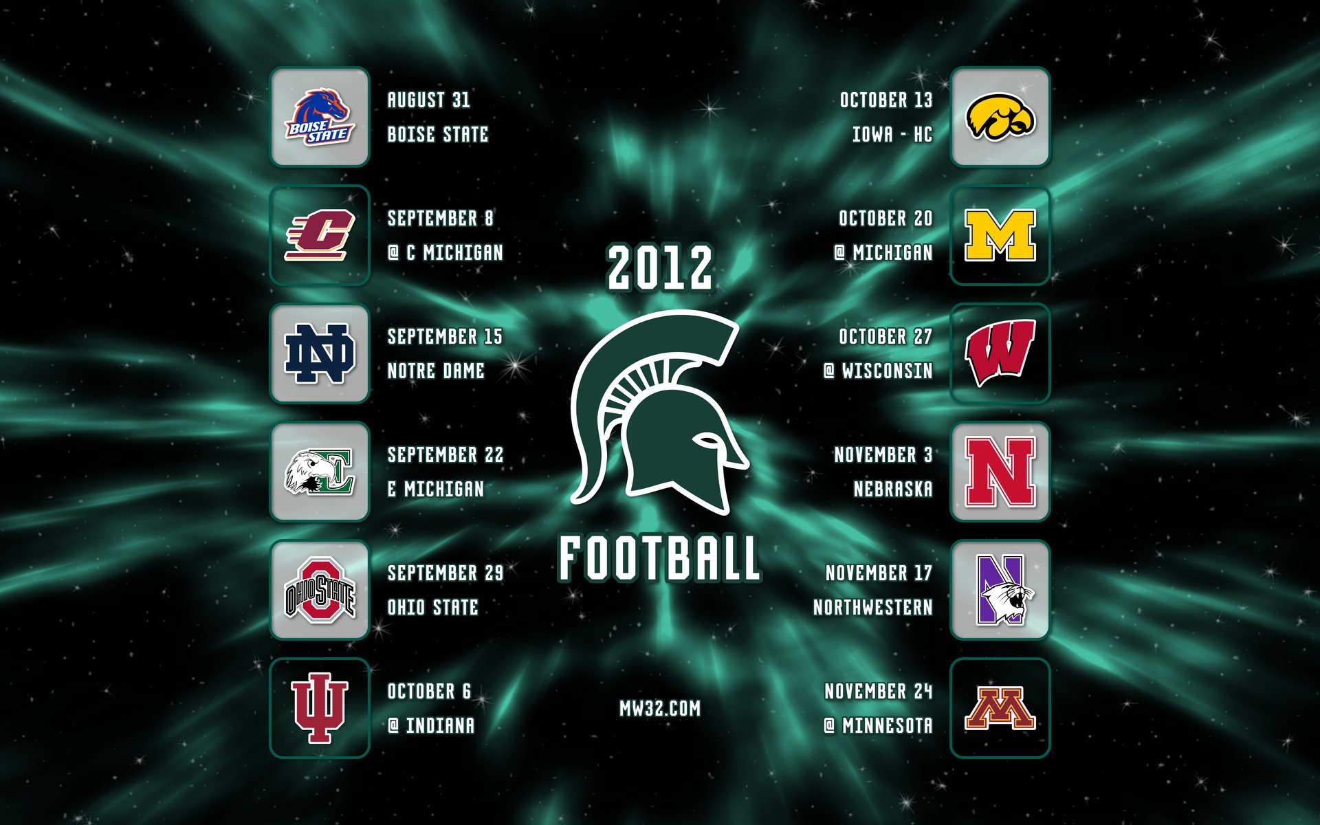 MICHIGAN STATE SPARTANS college football wallpaper 1920x1200 1920x1200