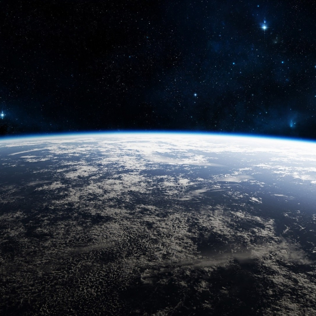 Download Earth surface from space wallpaper in Space wallpapers with 1024x1024