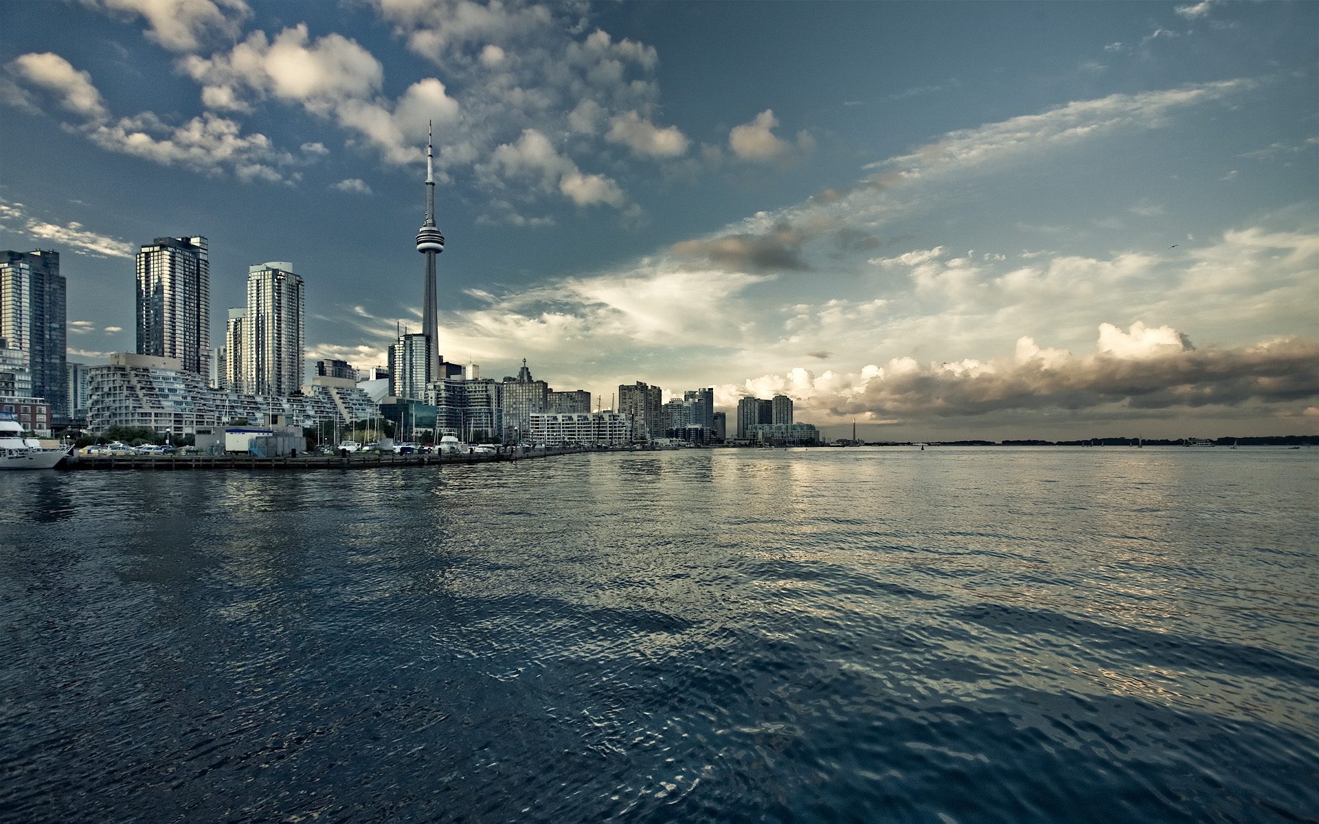 Daily Wallpaper Toronto Skyline I Like To Waste My Time 1920x1200