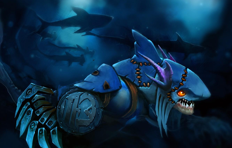Wallpaper sharks dota jpeg slark images for desktop section 1332x850