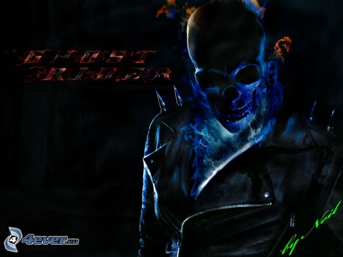 Blue Ghost Rider Wallpaper Ghost rider 674x505